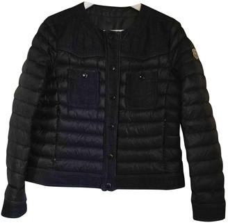 Moncler Black Trench Coat for Women