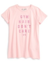 Under Armour Girl's Gym Hair Don'T Care Graphic Tee