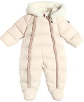 Moncler Hooded Nylon Down Baby Bunting