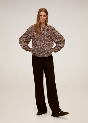 MANGO Floral print blouse red - 2 - Women