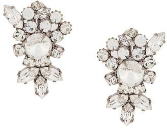 Susan Caplan Vintage statement crystal earrings