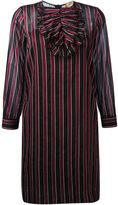 No.21 striped longsleeved dress - women - Silk/Cotton/Acetate - 40