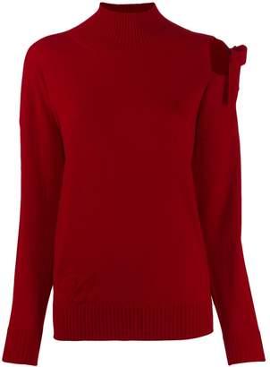 Blumarine cut-out detail jumper