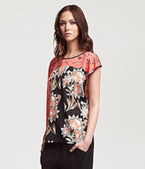 Kenneth Cole New York Eris Floral Blouse