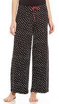 Hue HUEtopia Hearts & Dots Jersey Sleep Pants