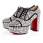 Christian Louboutin Royal Strass 110 Version Crystal Strass - Women Shoes