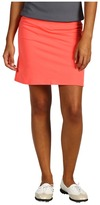 adidas Range Wear Knit Skort (Poppy) - Apparel