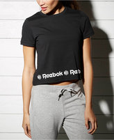 Reebok Cotton Cropped T-Shirt