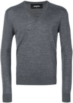 DSQUARED2 classic V-neck jumper - men - Wool - XL