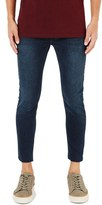 Topman Men's Raw Edge Crop Skinny Jeans