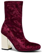 New York & Co. Velvet Ankle Boot
