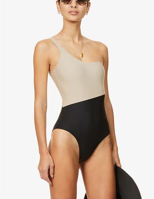 Casa Raki Magda two-tone swimsuit