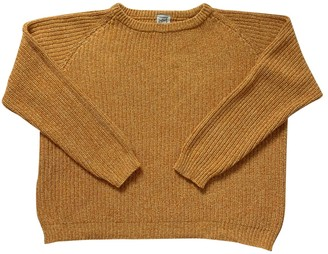Base Range Yellow Cotton Knitwear