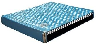 "Hydro-Support 303 9"" Hard-side Waterbed Mattress 3 Layer Waveless Strobel Mattress Size: King"