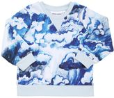 Mini Rodini Cloud Printed Cotton Sweatshirt