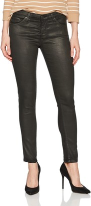 AG Jeans Women's The Legging Ankle Skinny Vintage Leatherette