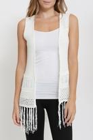 Andrea Boho Crochet Vest