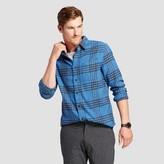 Goodfellow & Co Men's Long Sleeve Heavyweight Flannel Button Down Shirt - Goodfellow & Co Blue Ribbon