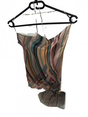 Jacques Fath Multicolour Silk Dress for Women