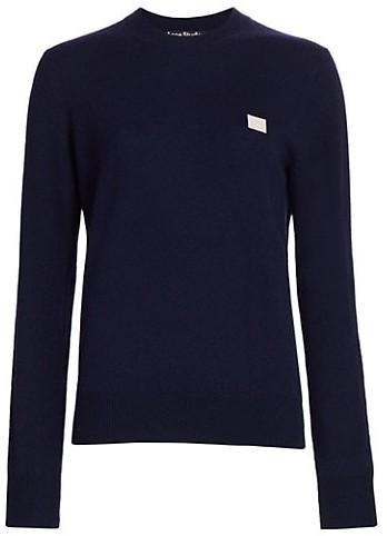 Acne Studios Kalon Face Wool Sweater