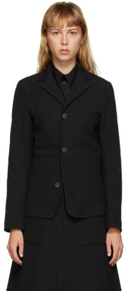 Toogood Black Conductor Jacket