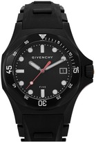 Givenchy Five Shark Black Stainless Steel Watch