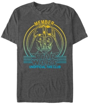 Star Wars Men's A New Hope Vader The Unofficial Fan Club Short Sleeve T-Shirt