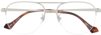 Gucci Aviator-Frame Glasses