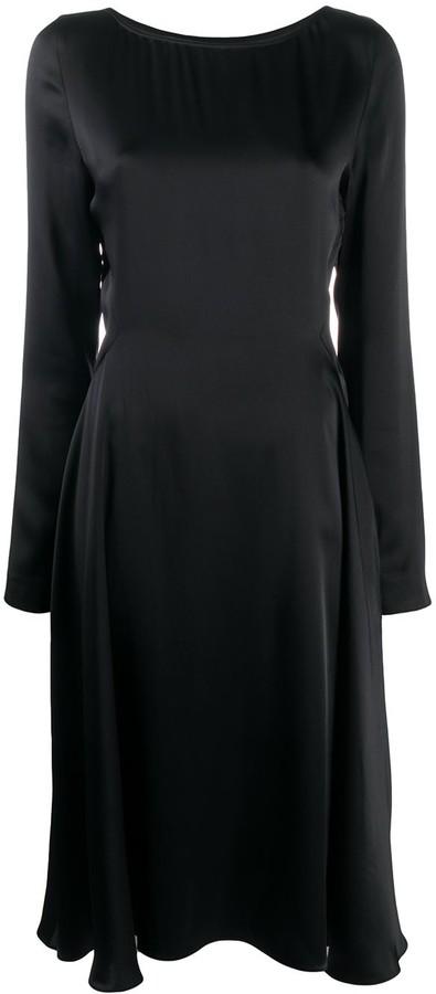 Maison Margiela Long Sleeve Empire Line Dress