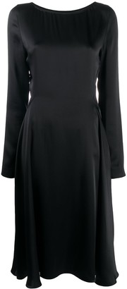 Maison Margiela Long Sleeve Empire Line Dress
