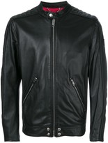 Diesel L-quad leather jacket