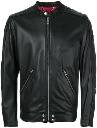 Diesel L-quad leather jacket