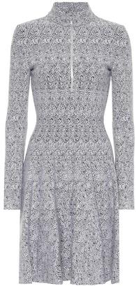 Alaia Intarsia knit minidress