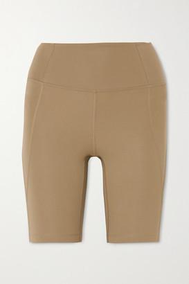 Girlfriend Collective Bike Stretch Shorts - Beige