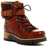 Manas Design Genuine Shearling Lined Boot