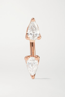 Anita Ko Orbit 18-karat Rose Gold Diamond Earring