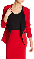Nine West Ruched Sleeve Jacket