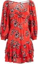 IRO Riane Floral Mini Dress