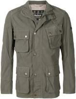 Barbour cargo pocket military jacket