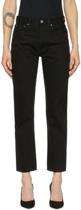 Totême Black Original Jeans