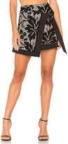 Elliatt Muse Wrap Skirt in Black. - size S (also in XS)