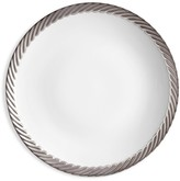 L'OBJET Corde Platinum-Plated Trim Porcelain Bread & Butter Plate