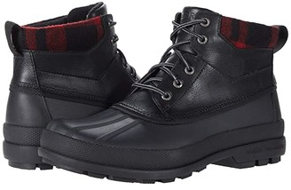 Sperry Cold Bay Chukka (Black/Buff Check) Men's Cold Weather Boots