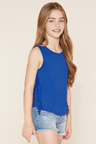 Forever 21 Girls Fringe Top (Kids)