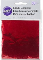 Wilton Foil Wrappers - Red