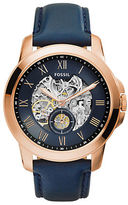 Fossil Mens Grant Three-Hand Automatic Watch