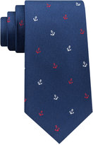Club Room Men's Anchor Silk Tie, Created for Macy's