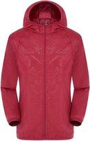 Lanbaosi Lightweight Windbreaker Active Outdoor Hoodie Coat Running Sport Jacket