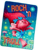 "Trolls ""Rock 'n Troll"" Ultra Soft Oversized Throw"