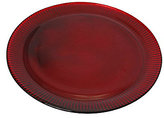 Southern Living Ribbed Glass Charger Plate